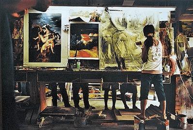 大芬村模式:在油画中彰显中国精神