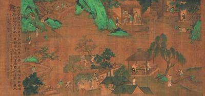 农夫之乐:中国绘画中的乡村休闲生活