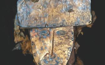 来自西藏阿里的黄金面具