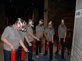 运城博物馆开展消防应急演练