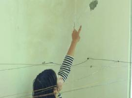 广州地铁13号线开建 附近住户声称多处墙壁被震裂