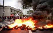 巴西圣保罗爆发大规模罢工