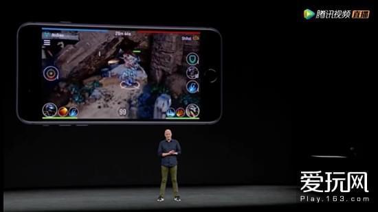 iPhone8深度植入AR功能 现场演示国产团队游戏