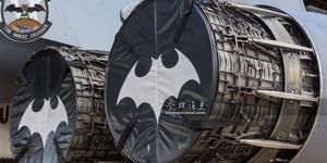 美精锐轰炸机竟现蝙蝠侠标志
