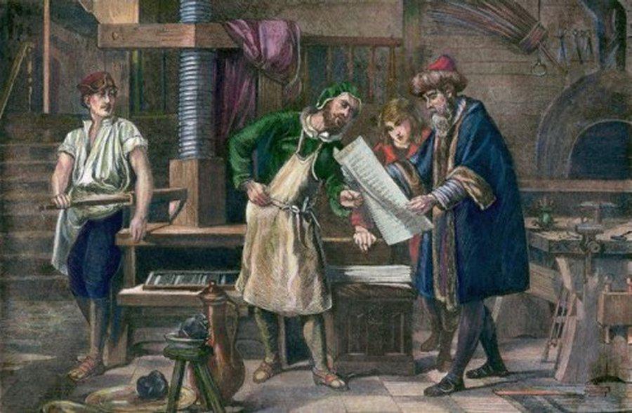 书摘|印刷术与革命:古登堡令欧洲走出愚昧时代?