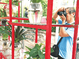 """饮马河公园清凉""""水之韵""""文化节吸引游客"""