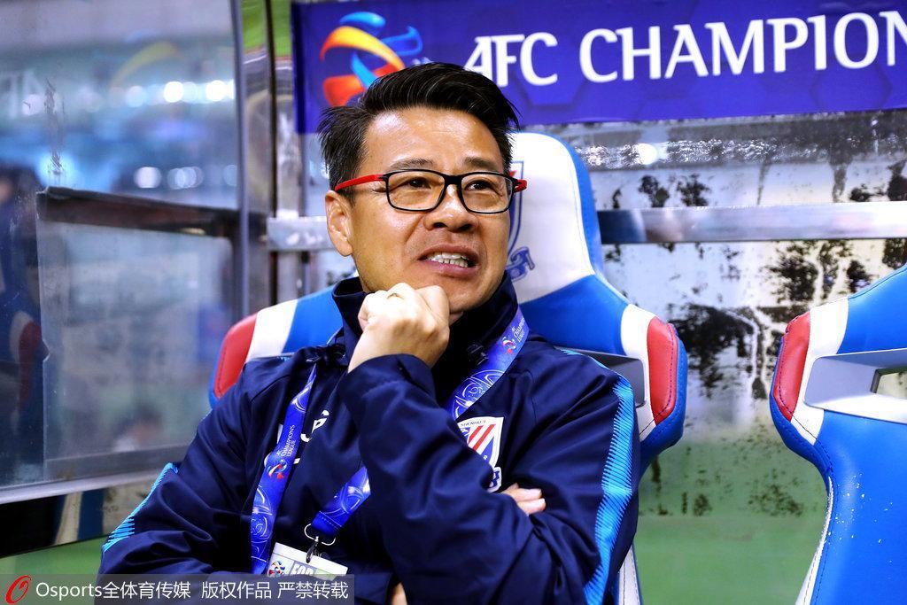 吴金贵:申花跟亚冠球队存差距 输球没必要找借口
