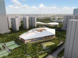 滨河体育中心改造年底完工 将容纳684个车位