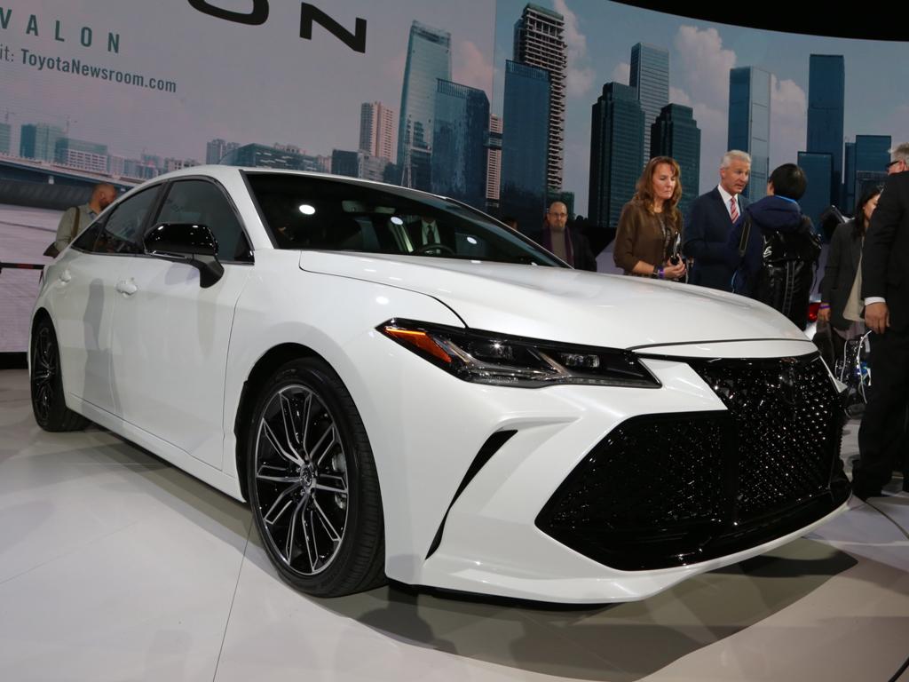 比皇冠还豪 丰田全新Avalon北美车展发布