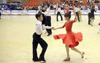 舞步灵动 省运会体育舞蹈比赛闪耀新华文体