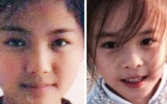 刘涛和十岁女儿对比照 俩人如同复制粘贴