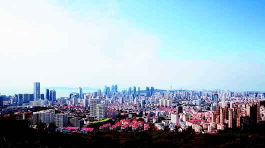 晴空万里金秋远眺 市区未来几天仍以晴好为主