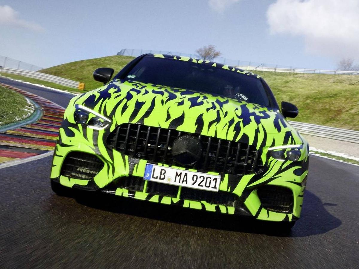 吊足胃口 梅赛德斯-AMG GT Coupe最新谍照
