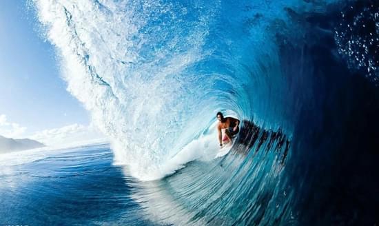 冲浪板表演