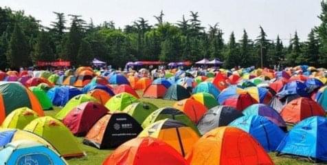 嗨翻天了!博罗观音阁帐篷节吸引4000人露营
