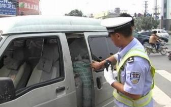 五一期间 蚌埠查处交通违法行为4791起