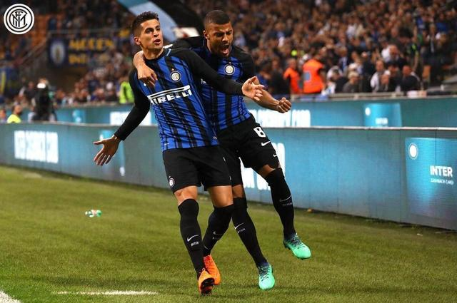 【意甲】国际米兰3-0卡利亚里,坎塞洛任意球闪击,伊卡尔迪建功