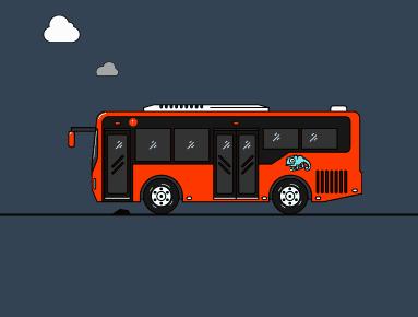 你从没见过这样的公交车:自动化、没拥堵、更快速