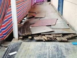 【警惕】隔壁小区暖气漏水八冶家园地基塌陷