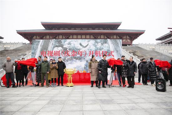 电视剧《庆余年》开机 张若昀挑战澹泊公子范闲