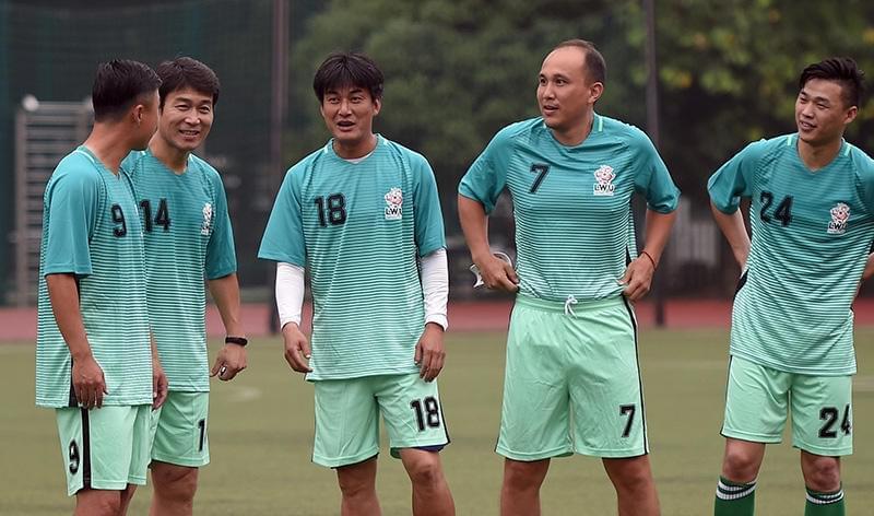 梦回95!范志毅领衔老申花赛场重聚 申思祁宏到场