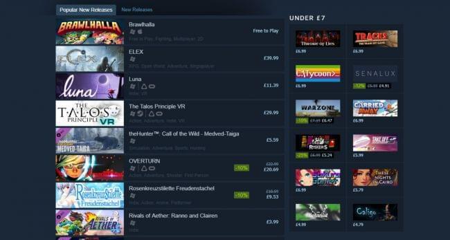 今年Steam发售的游戏超过6000款 是前十年的总和