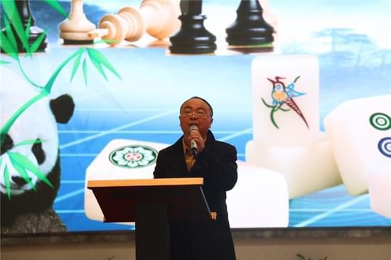 成都棋院院长、成都市棋牌运动管理中心主任蒋全胜