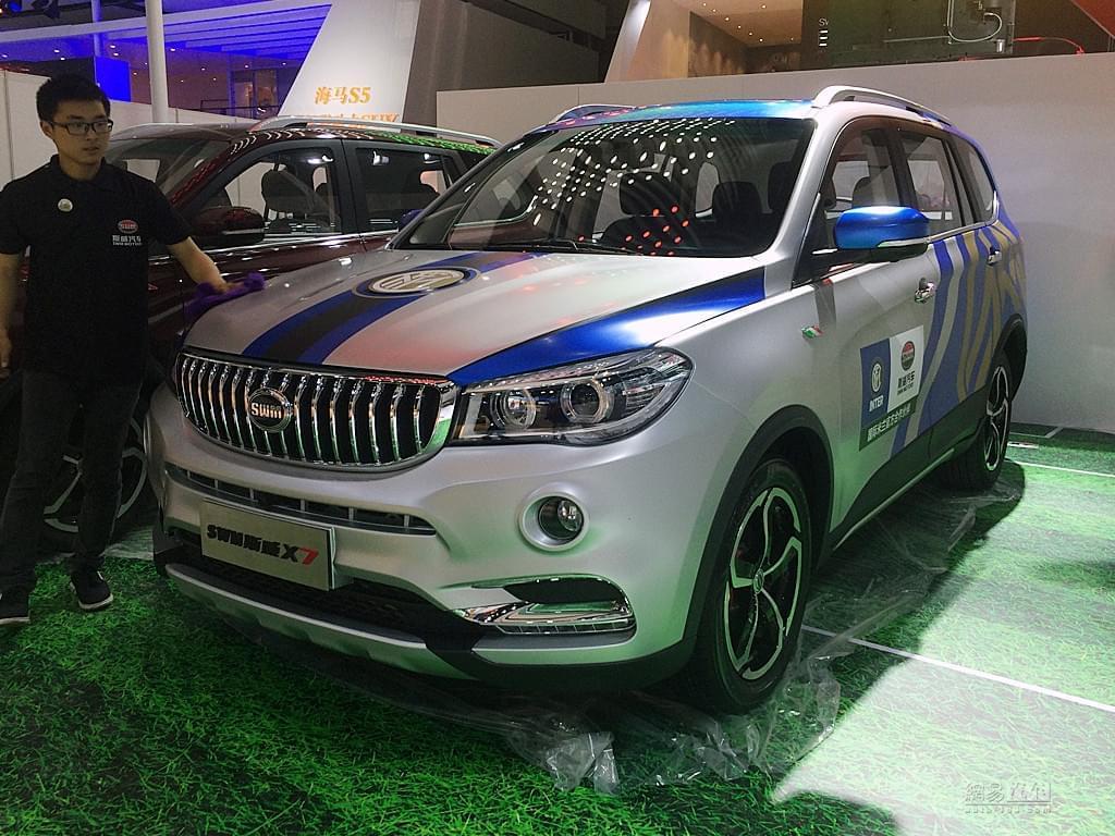 2017上海车展探馆:斯威X7 6AT版实车图