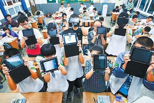 陕西高中通知新生自备iPad 校方:教学需要不强求