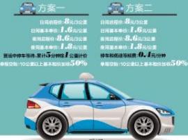 城区巡游出租车拟调价 提出两种改革方案