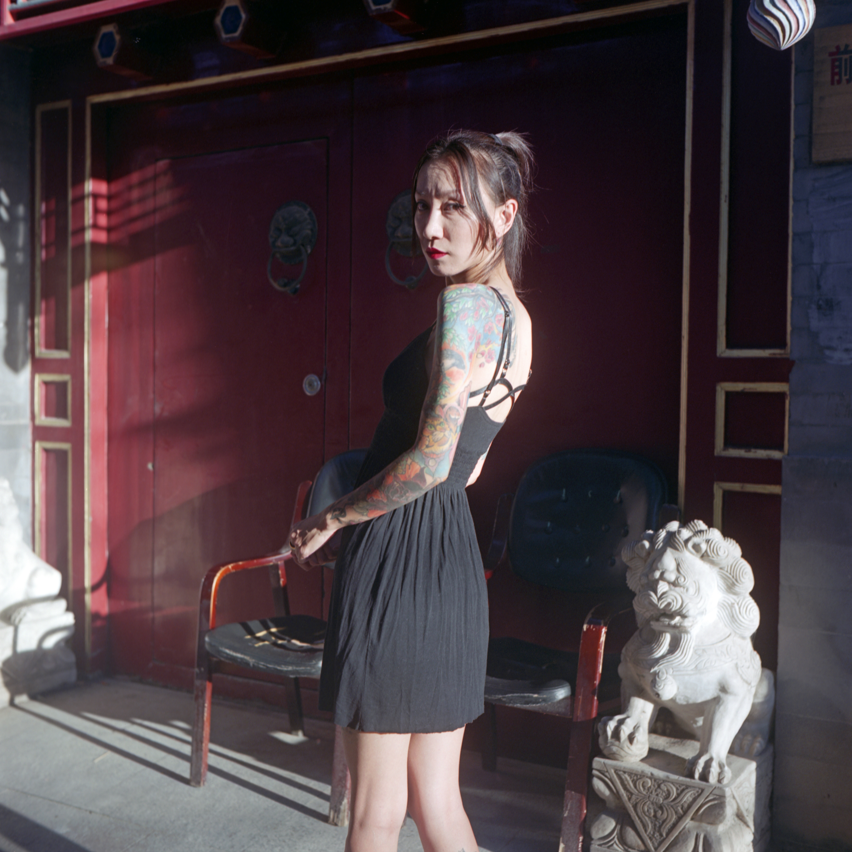 服装设计师王洋  李伟供图