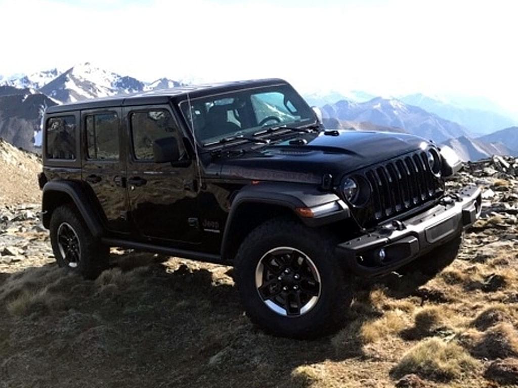 熟悉面孔的换代车 Jeep全新牧马人实车图