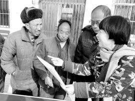 灵宝市焦村镇扶贫办:扶贫政策送到家