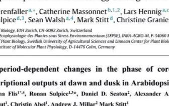 蛋白质组学揭示光周期对蛋白丰度的调控