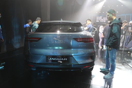 纯电轿跑SUV 捷豹I-PACE北京车展公布售价