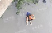 俞垛一女子河中溺亡 岸边留下鞋子手表