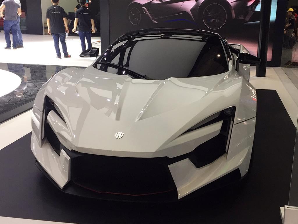 2017上海车展探馆:Fenyr SuperSport