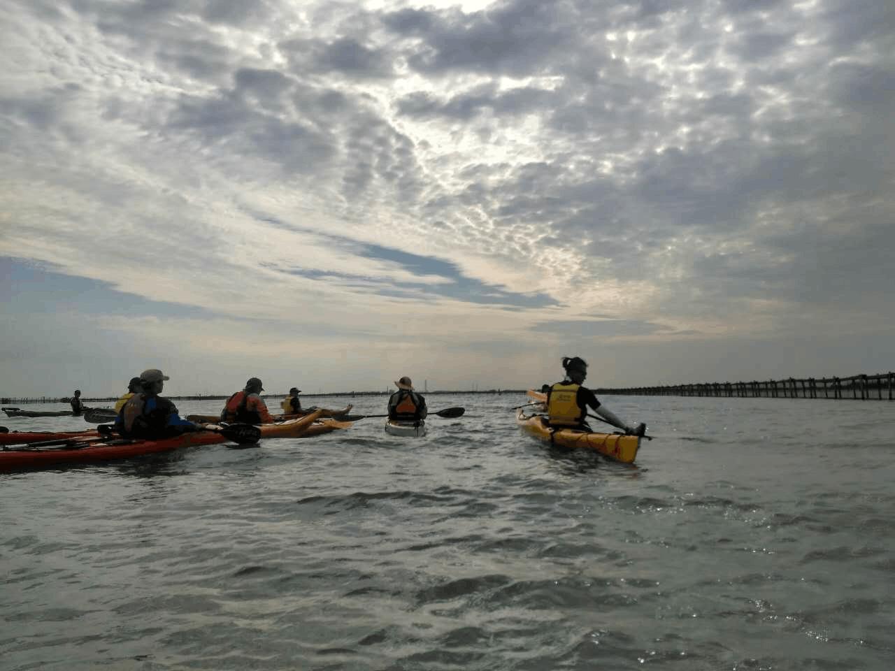 2017公开水域皮划艇教练员培训班4月1日统景开课