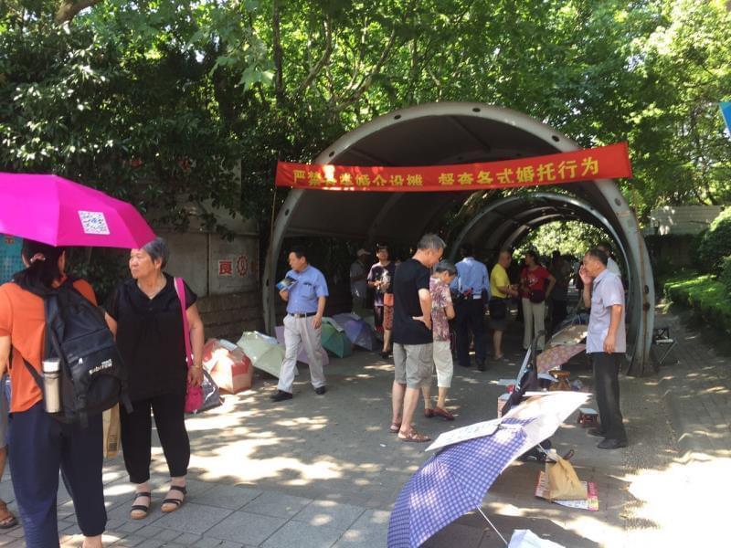 """上海有没有相亲价目表?记者""""卧底""""两大相亲圣地 图2"""