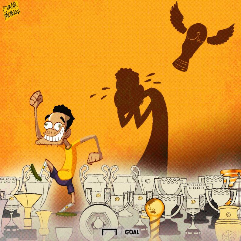 38冠魔王为世界杯流泪35岁的迷人小混蛋:巴西战斗!