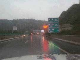 因降雨高速得胜口至大同东\大同绕城交通管制