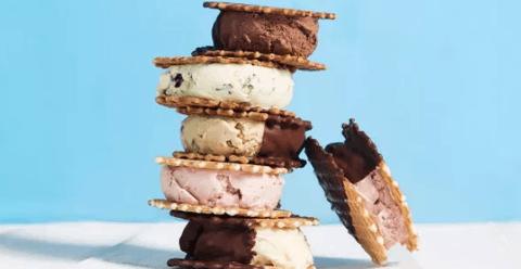 你吃过冰淇淋三明治吗?