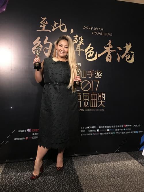 女神夺华语金曲两项大奖 郑欣宜挟强势推新歌