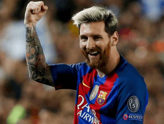 梅西荣膺2017世界顶级联赛最佳射手 C罗未进前10