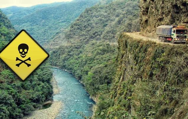 世界上最恐怖的14条死亡公路,中国上榜2条