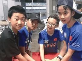 国际机器人大赛 中国孩子夺冠
