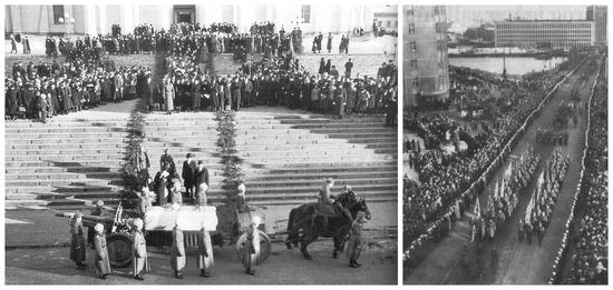 八:曼纳海姆辞世以后,芬兰为他举行国葬