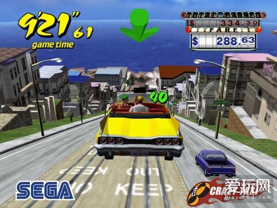 经典街机重现 世嘉疯狂出租车再登移动端