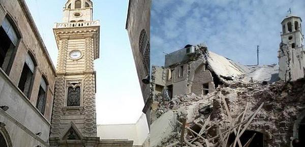 七年之殇!一组图看叙利亚战争前后对比