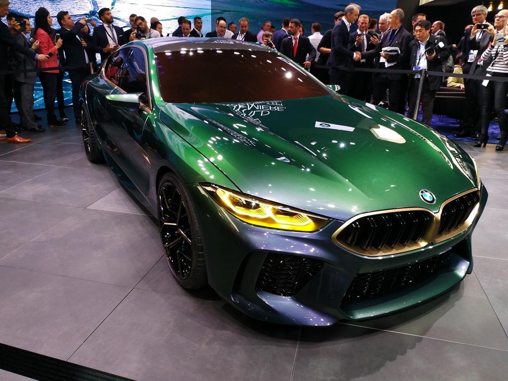 M POWER遇上奢侈 宝马发布M8概念车